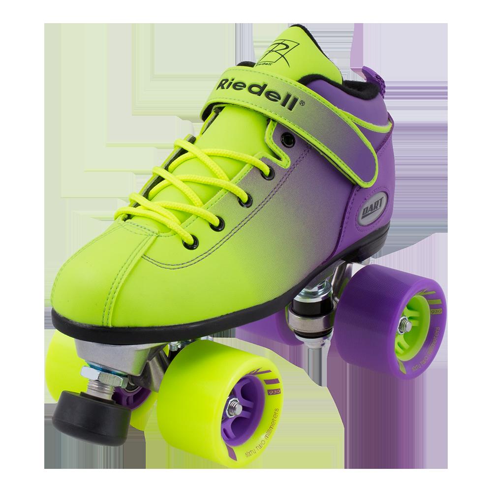 Dart Ombre Rink Amp Speed Roller Skates Riedell Roller