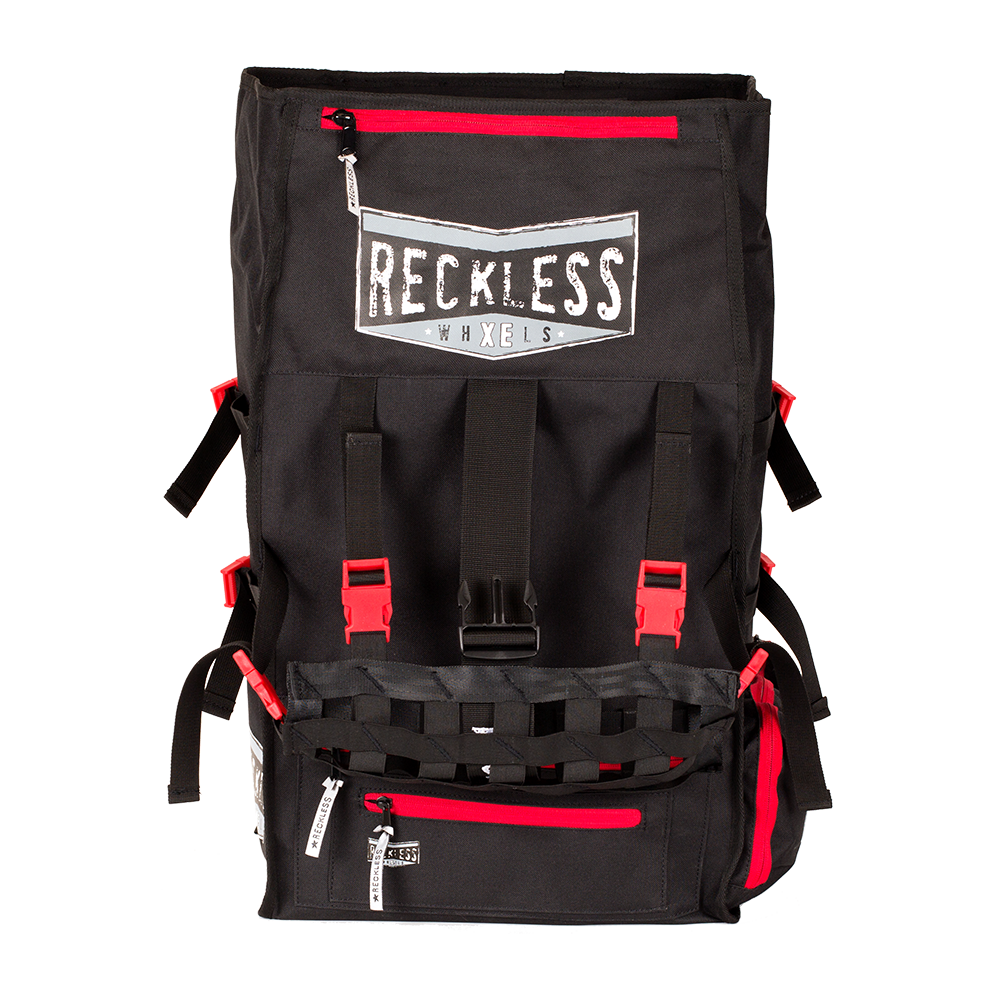 Reckless Backpack - Black and Red