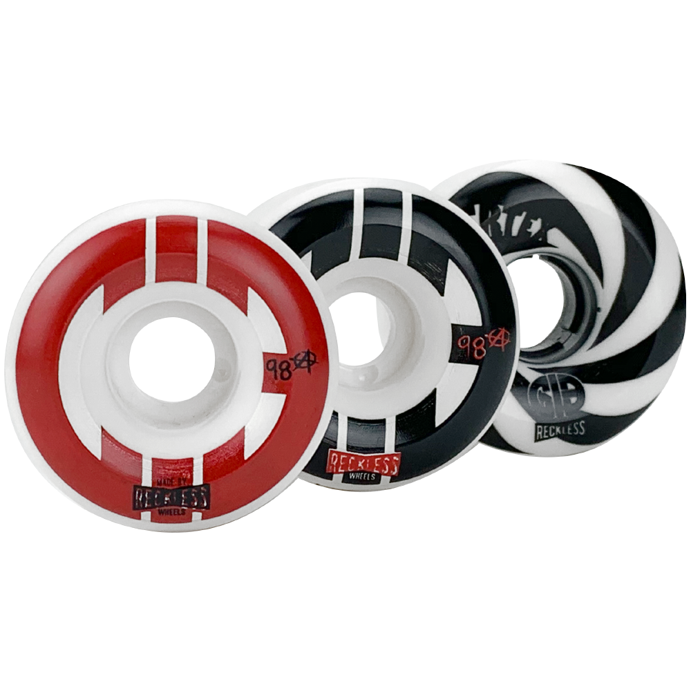 CIB Wheels - Street, Park, and Vertex (Pack of 4)