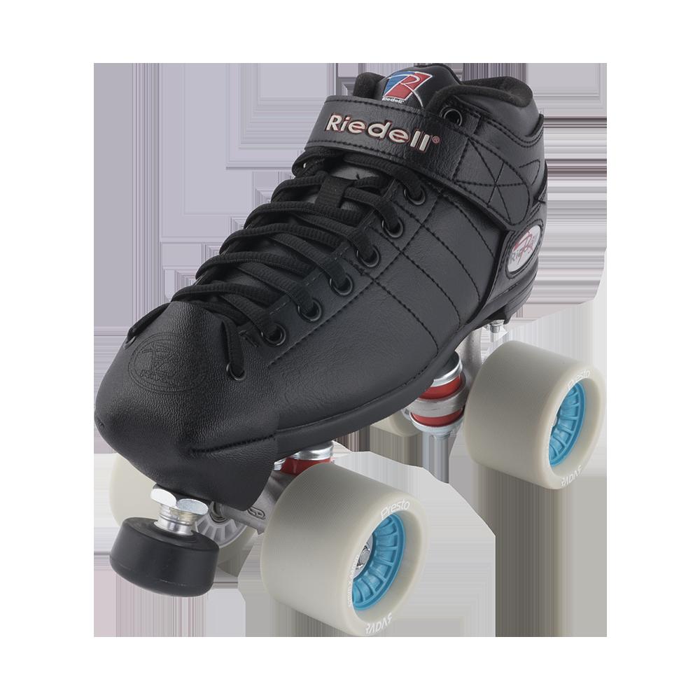 Roller skates for plus size - Riedell R3 Derby Plus Derby Roller Skate Set