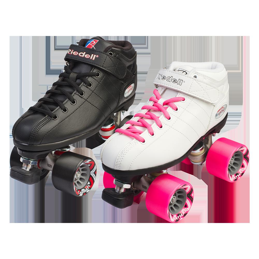 Zebra roller skates - Riedell R3 Roller Skate Set