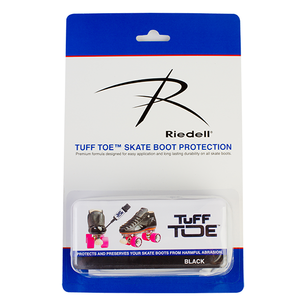 Tuff Toe Black Skate Boot Protection