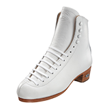 Riedell High Top Roller Skate Boots Model 297 Professional White