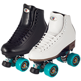 Riedell Celebrity Outdoor Roller Skate Set