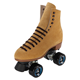 Riedell Outdoor Roller Skate Sets Tan Model 135 Zone Skate Set