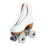Riedell Artistic Roller Skate Sets Espre Featuring White Model 297 Boot