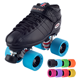 Riedell R3 Demon Roller Skate Set