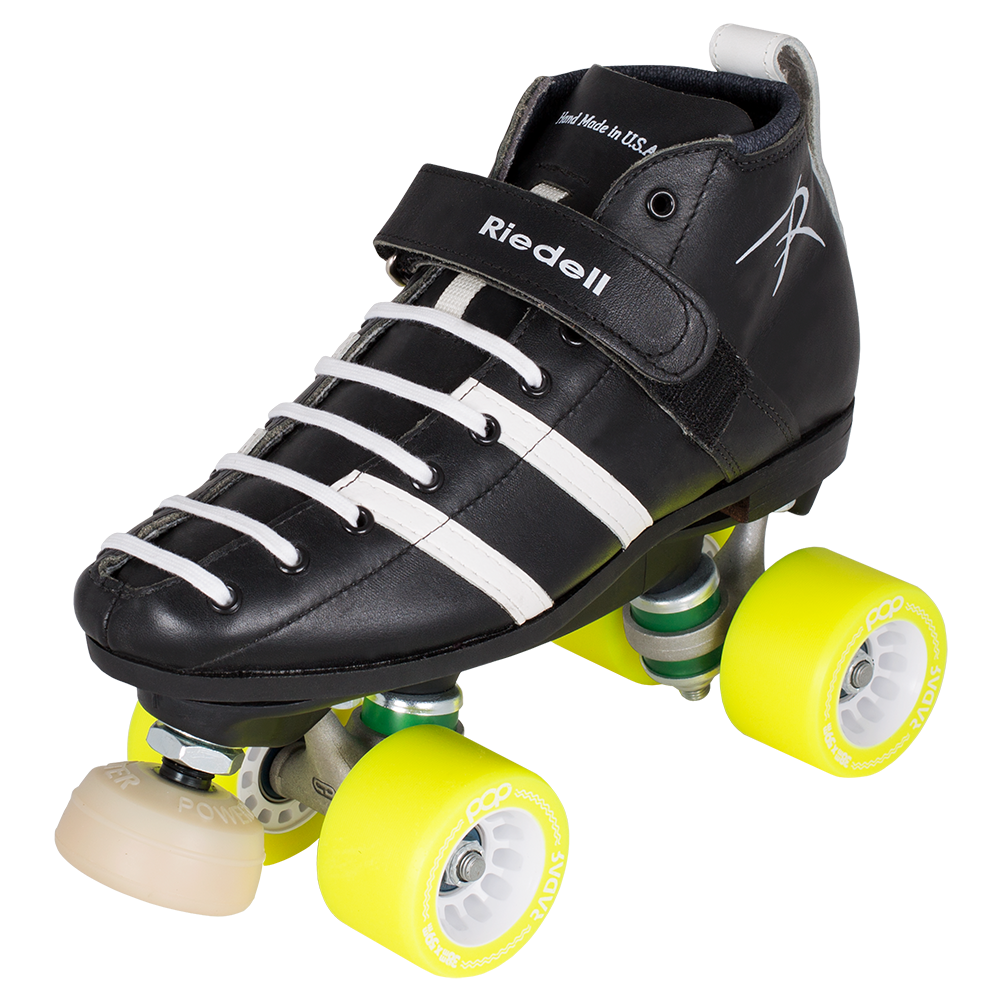 Pop out roller skate shoes - Riedell Wicked Roller Derby Skate Set