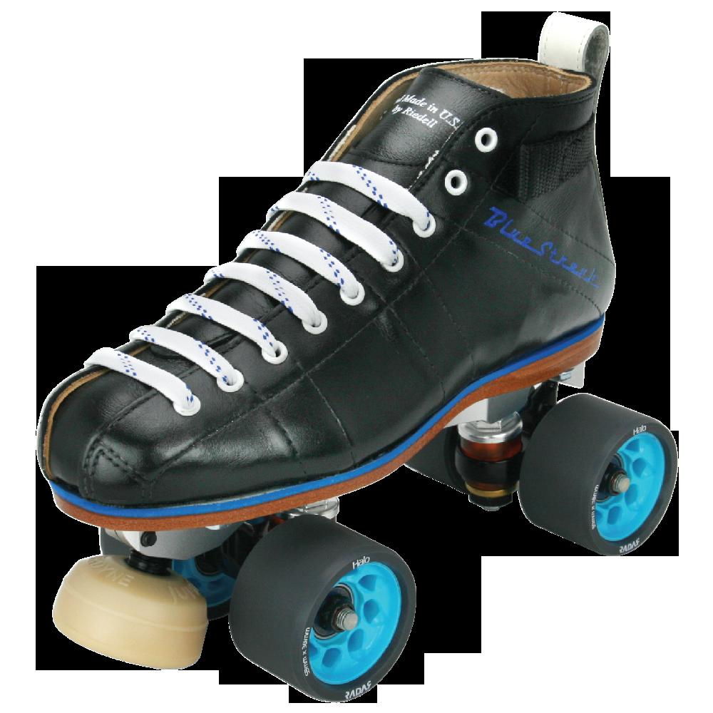 Roller skating derby - Riedell Blue Streak Pro Roller Skate Set