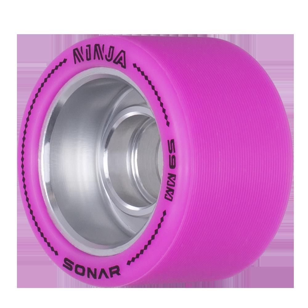 Sonar Ninja Agile Wheels Riedell Roller Skates
