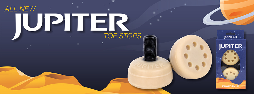 Order the all new PowerDyne Jupiter Toe Stop today!