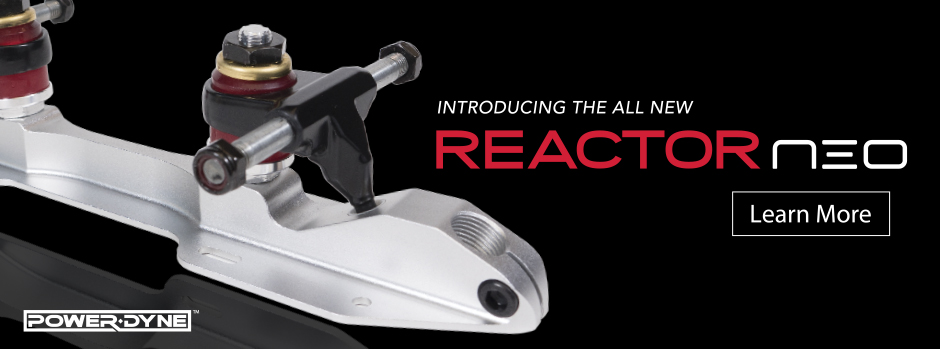 Introducing the all new PowerDyne Reactor Neo Plate. Click to Learn More.