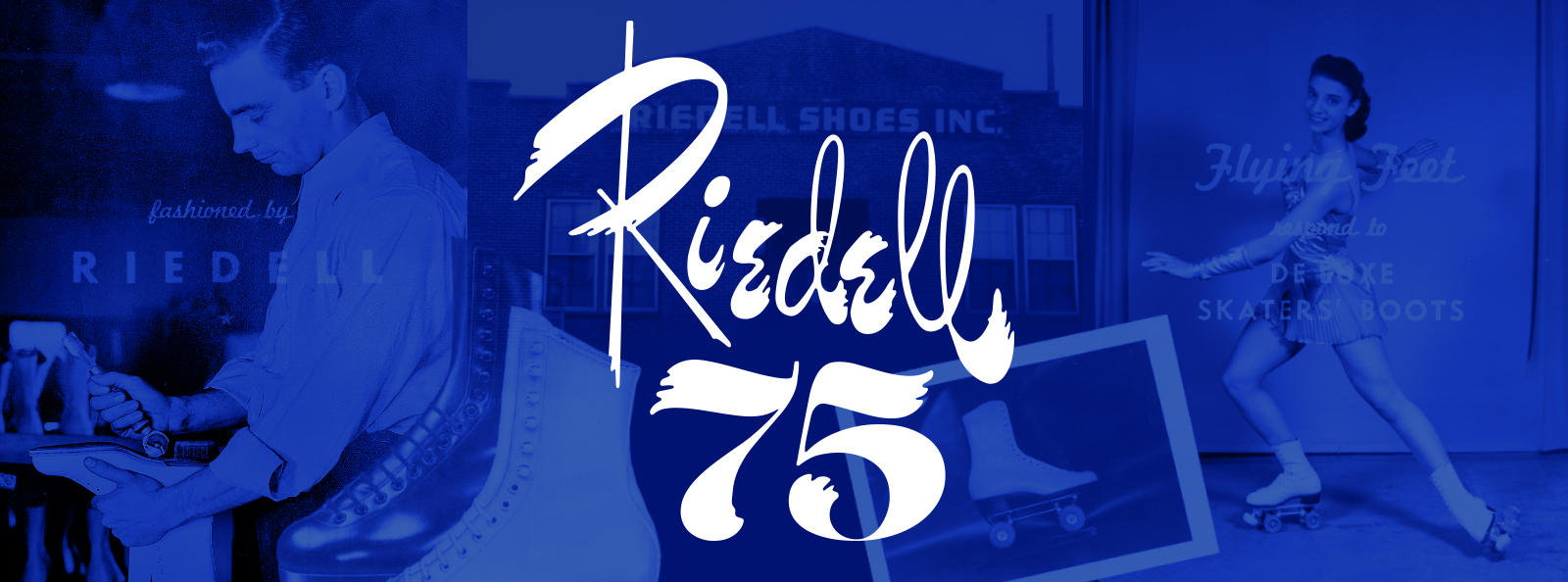 Riedell Skates is proud to be celebrating 75 years of making skates!