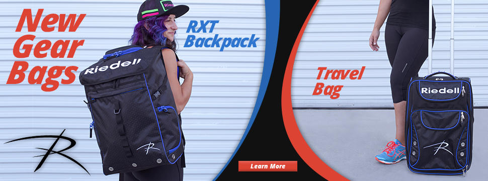 Introducing the new Riedell RXT Backpack and Wheeled Travel Bag. Click to Learn More.