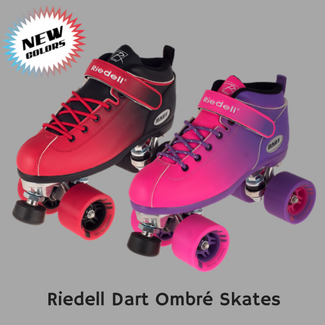 Dart Ombre Roller Skates - NEW Colors Available Now!