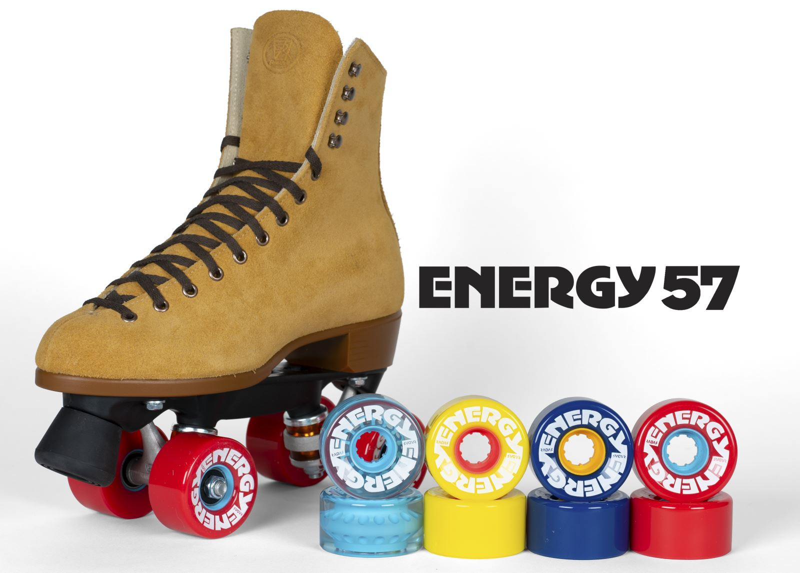 Radar Energy 57 Outdoor Roller Skate Wheels