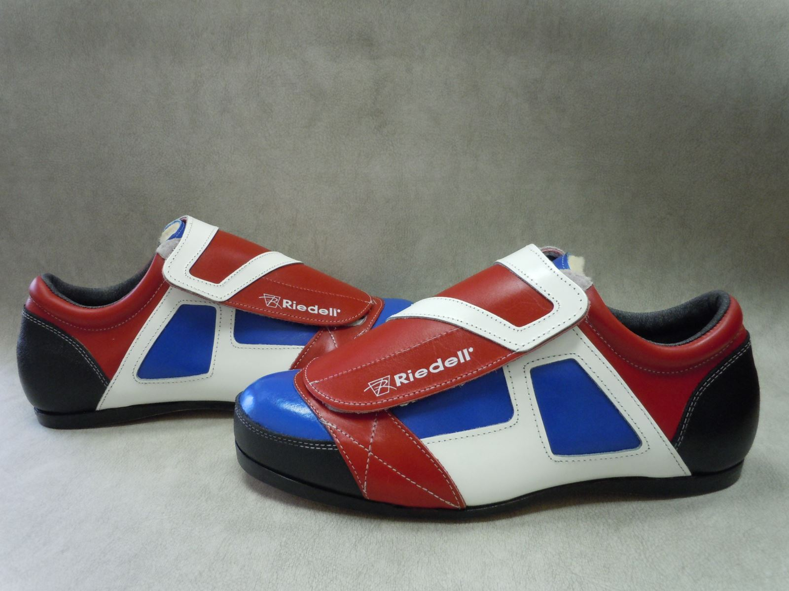 Riedell ColorLab Boot - Model 951 with Red, White, and Royal Blue Leather
