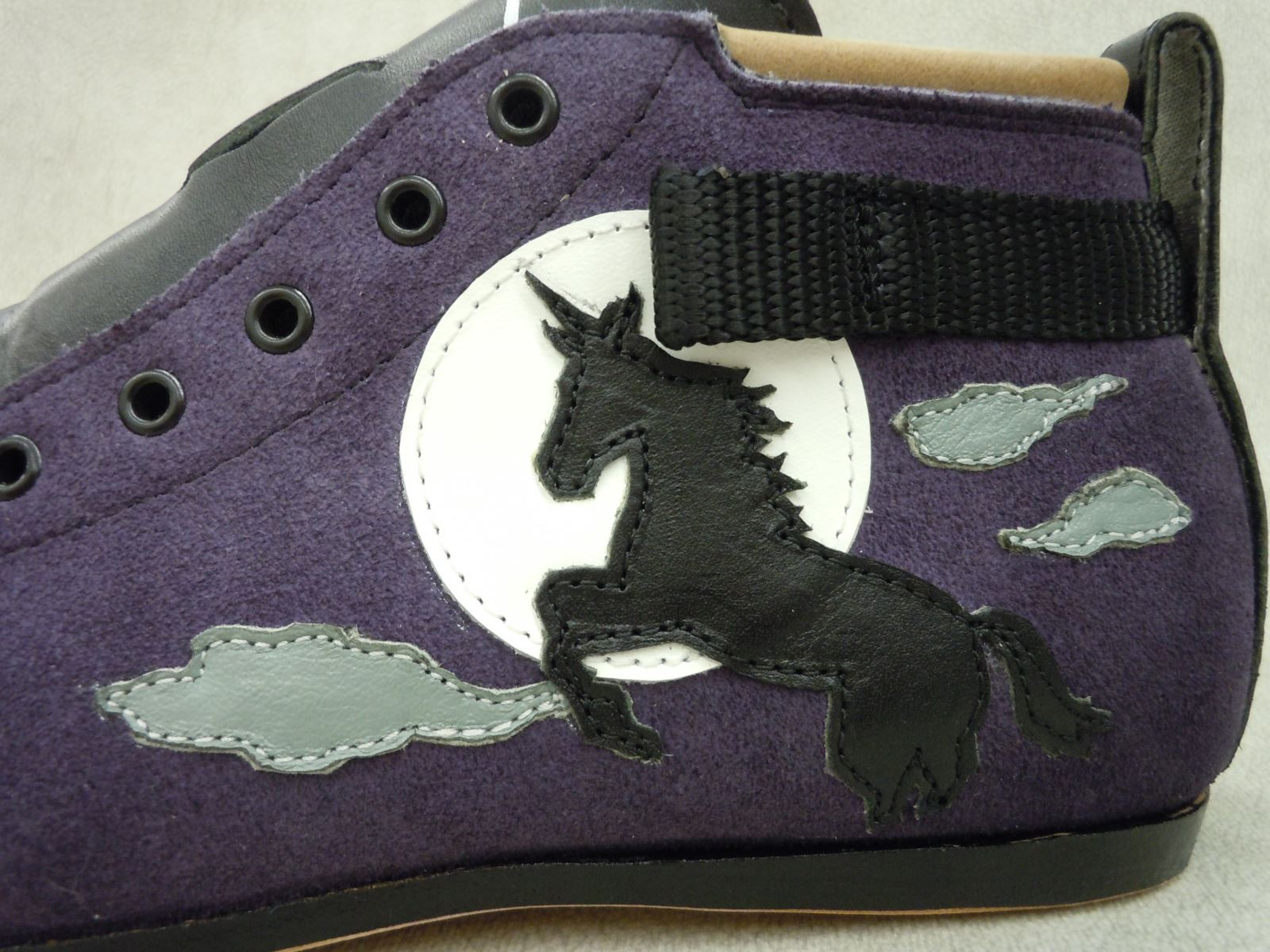 Full Custom Boot Graphic - Unicorn and the Moon
