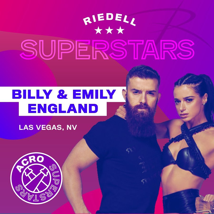 Riedell Superstars Billy and Emily England