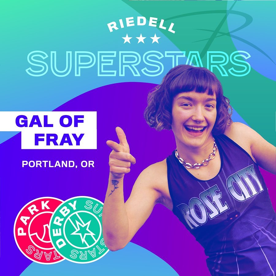 Riedell Superstar Gal of Fray