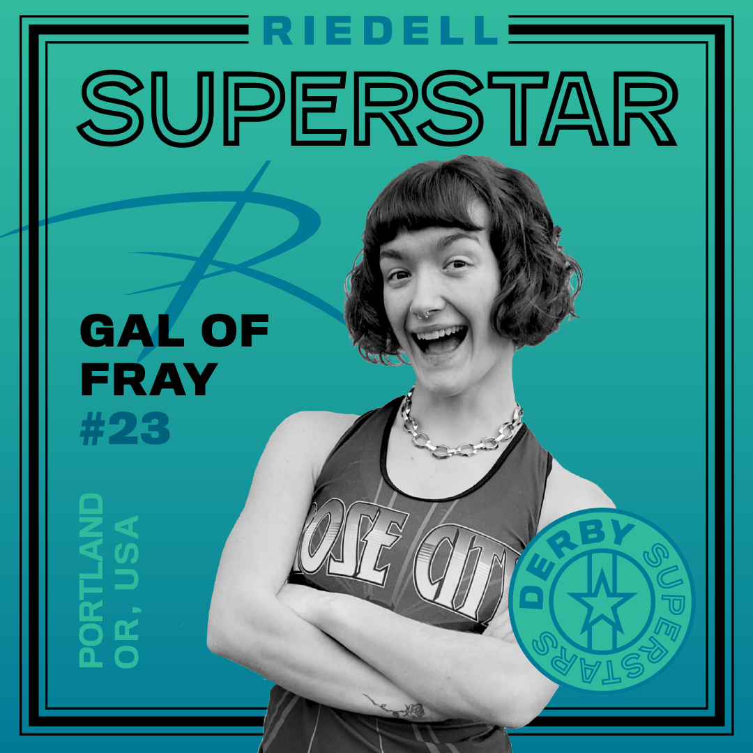 Riedell Superstar Gal of Fray | Derby