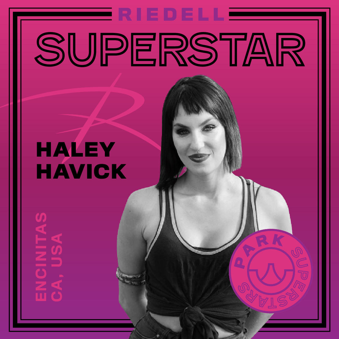 Riedell Superstar Hayley Havick | Park and Ramps