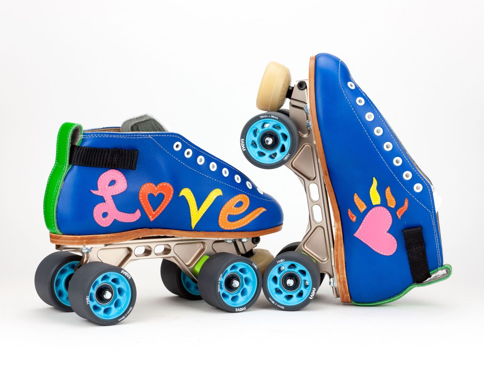 Hurricane Heather's Custom 395 Skates
