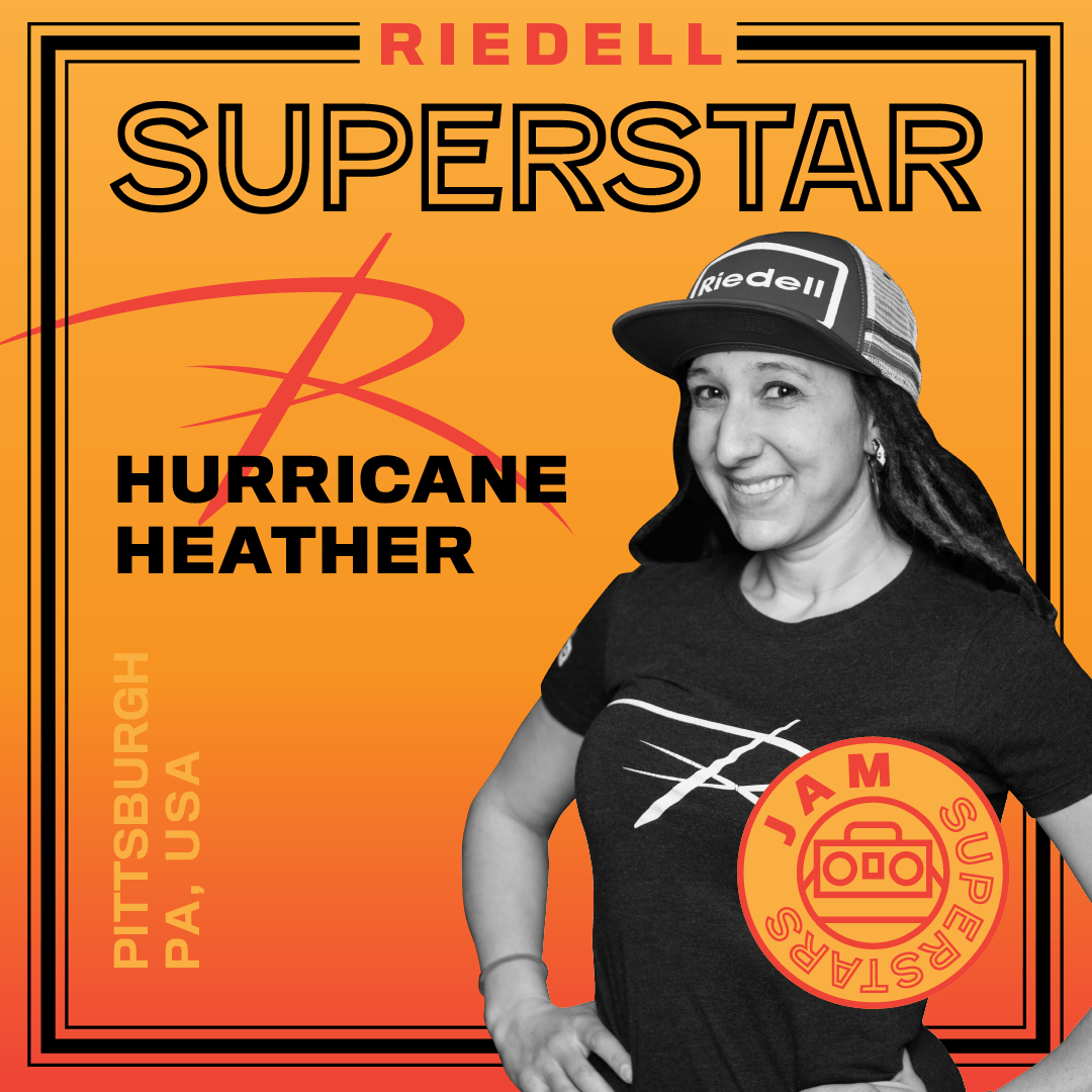 Riedell Superstar Hurricane Heather