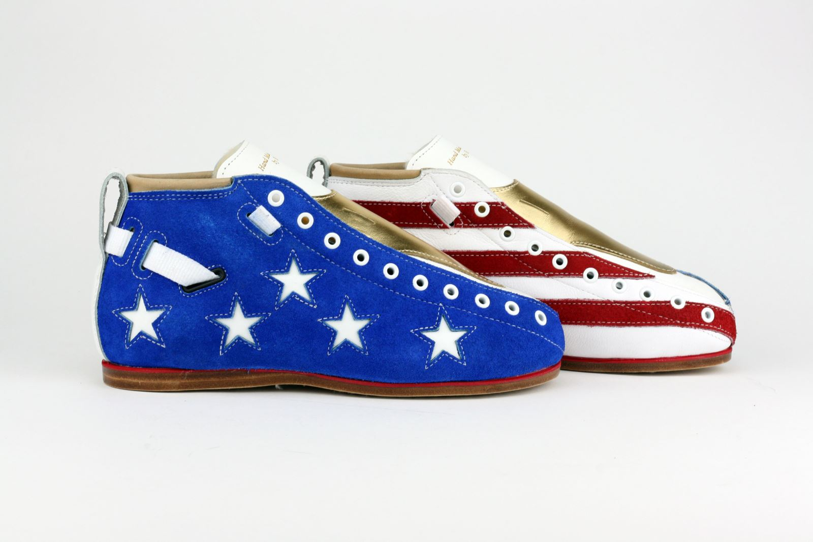 Riedell Superstar Jackie Daniels' Custom Solaris - Team USA Stars and Stripes