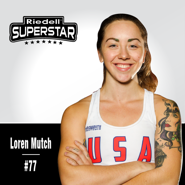 Riedell Derby Superstar Loren Mutch