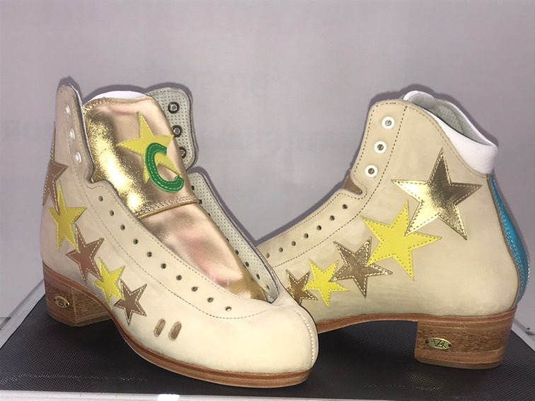 Riedell Superstar Skatefantacee's 2020 Custom 3200 boot