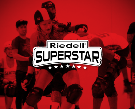 Riedell Roller Derby Superstars - Elite and influencial skaters in the sport of roller derby.