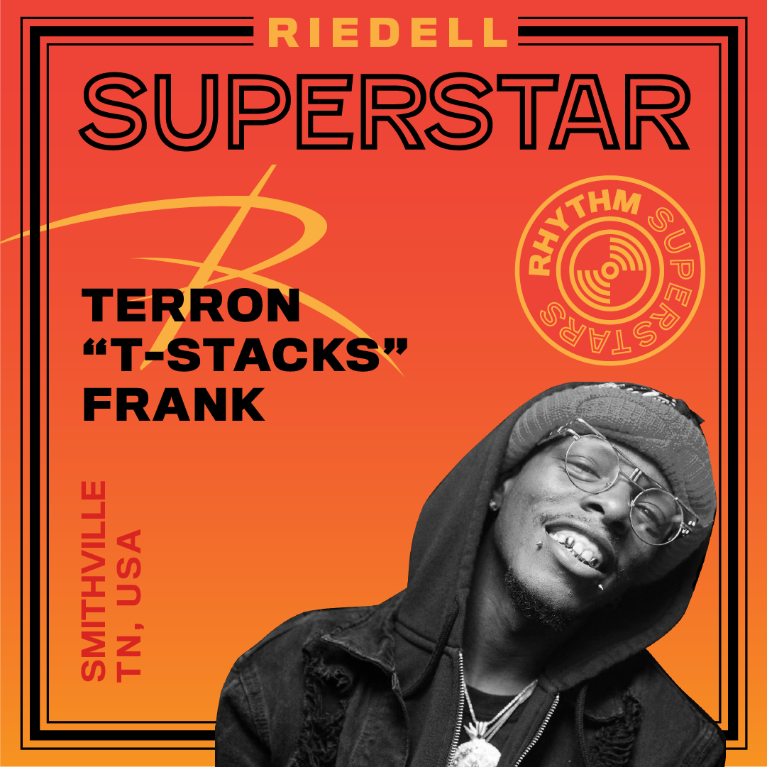 "Riedell Superstar Terron ""T-Stacks"" Frank"