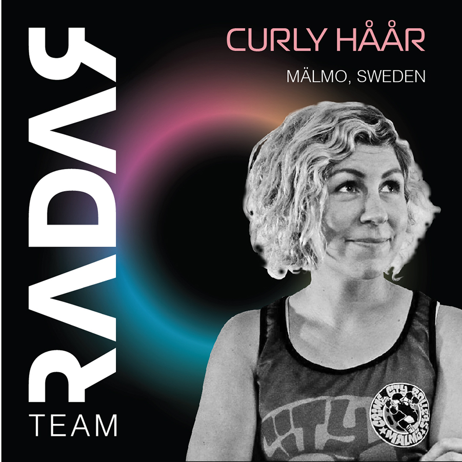 Team Radar 2019 Skater Curly Håår