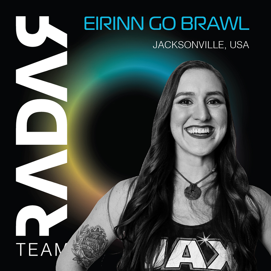 Team Radar 2019 Skater Eirinn Go Brawl