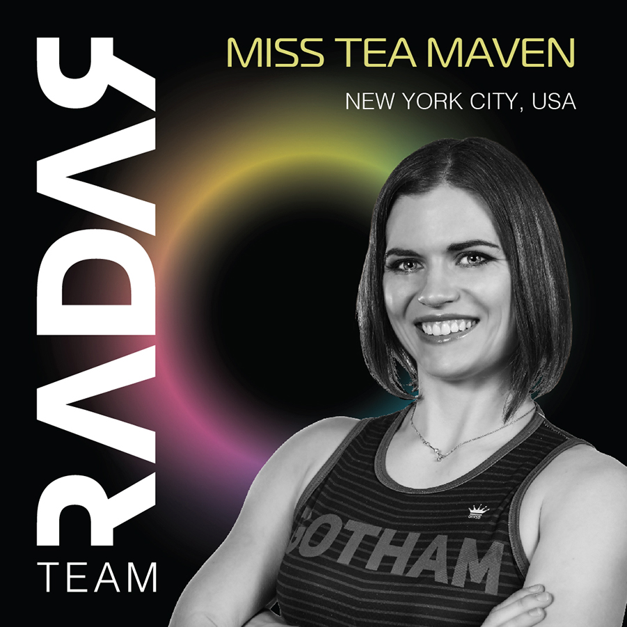 Team Radar 2019 Skater Miss Tea Maven