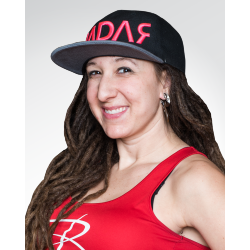 Team Riedell sponsored skater Hurricane Heather