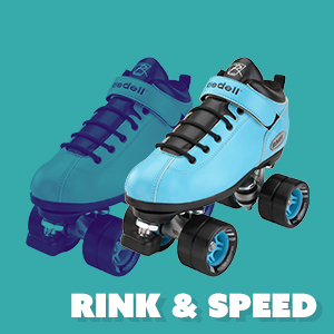 rink and speed skates